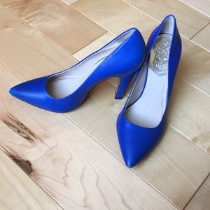 Vince Camino Heels Royal Blue